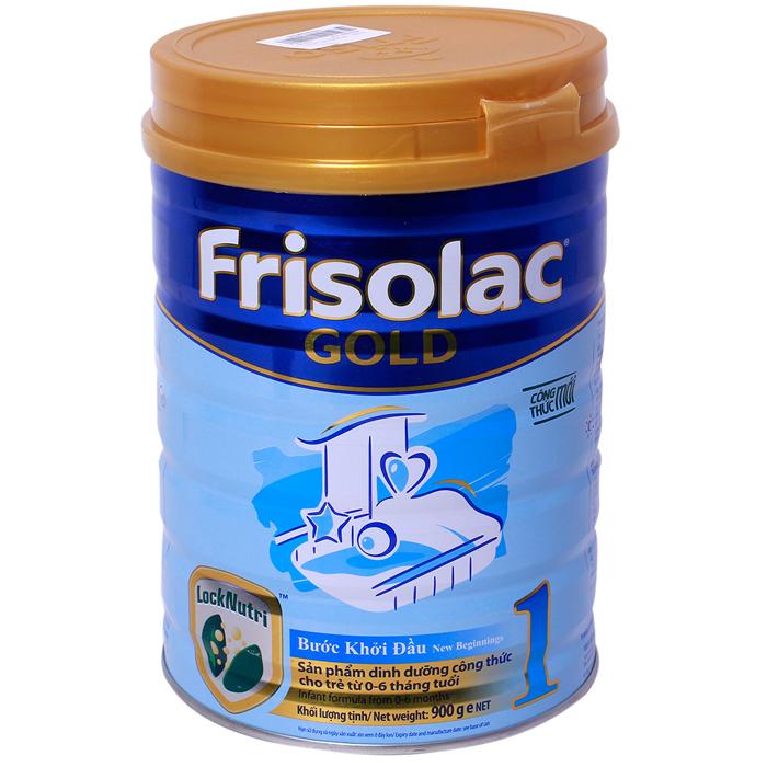 Sữa Frisolac Gold số 1- 900g (0-6M)