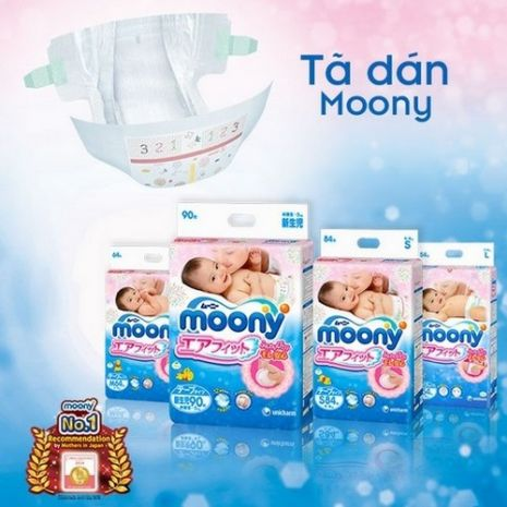 Tã dán Moony