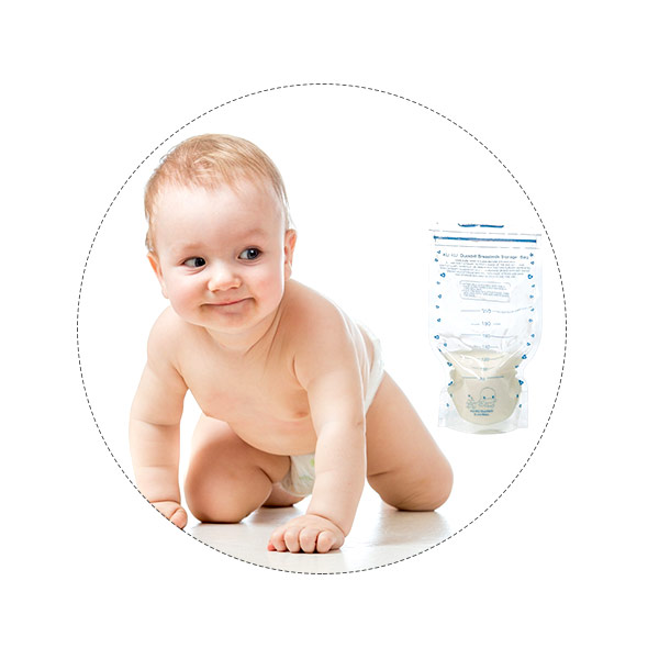 Túi trữ sữa KUKU 210ml KU5446 (20 túi)