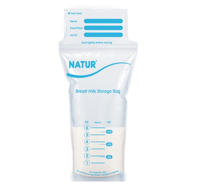 Túi trữ sữa Natur (10 túi)