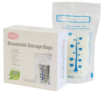 Túi trữ sữa Unimom UM870183 (60 túi)