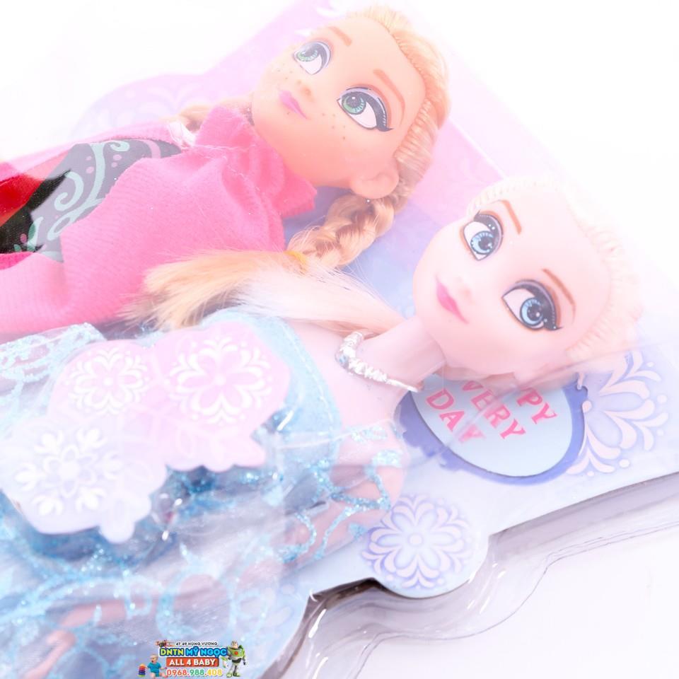 Đồ chơi búp bê công chúa Frozen Anna & Elsa 100AK