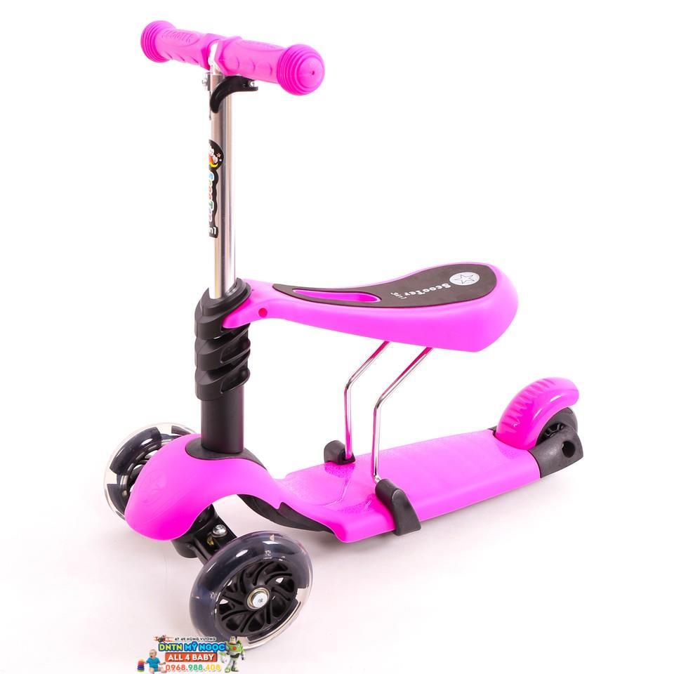 Xe trượt Scooter thế hệ mới 3 in 1