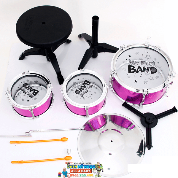 Bộ 3 trống Jazz Drum TL586 - 1101