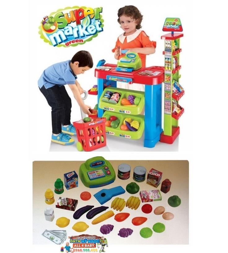 Bộ đồ chơi Siêu thị Mini cao cấp Super market 008-85