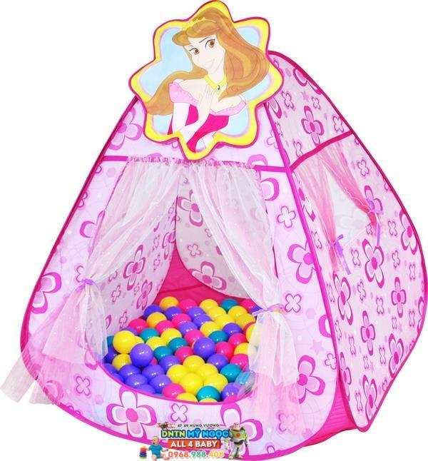 Nhà banh (Lều bóng) hình công chúa CHB-13-01
