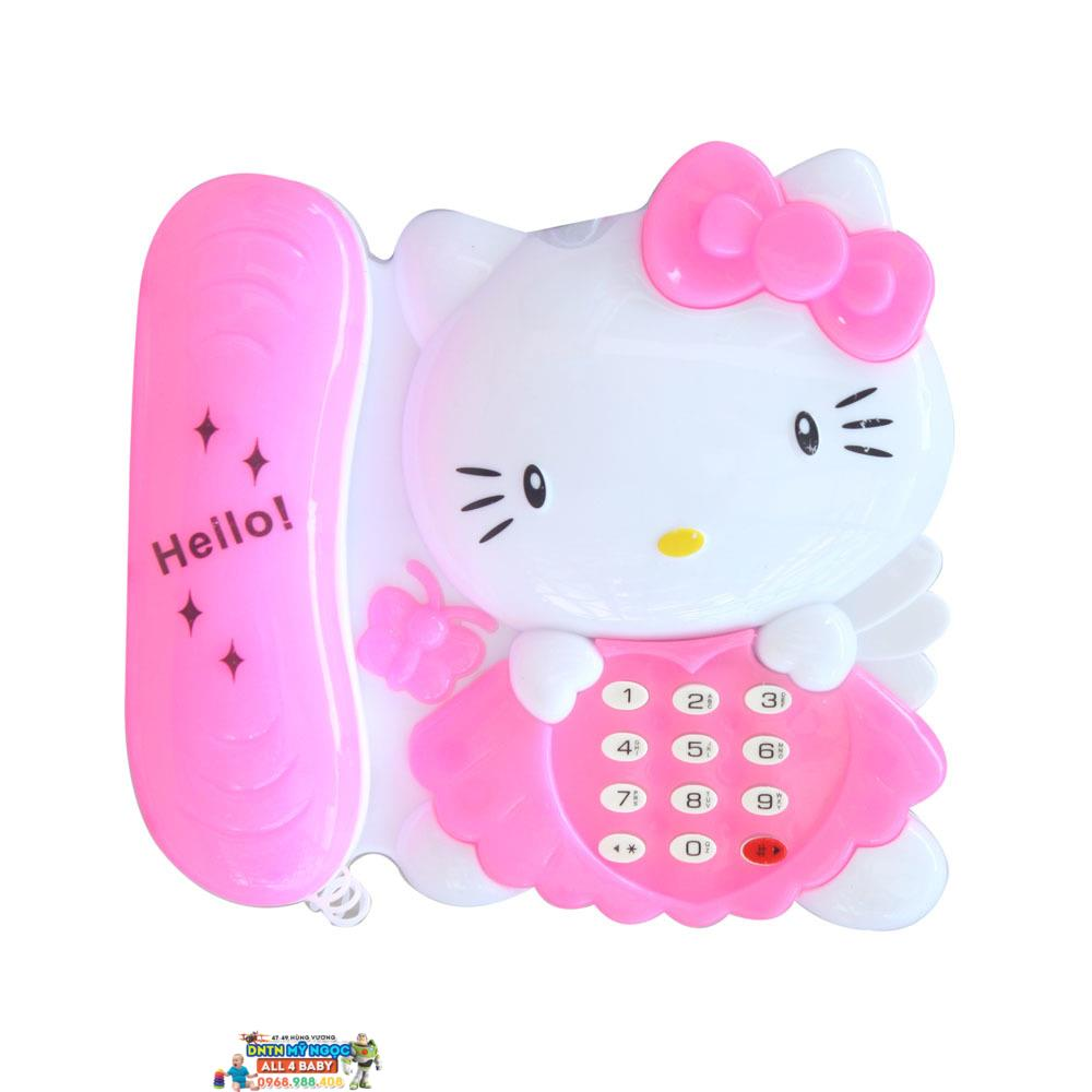 Bộ đồ chơi điện thoại và đàn Kitty 1203
