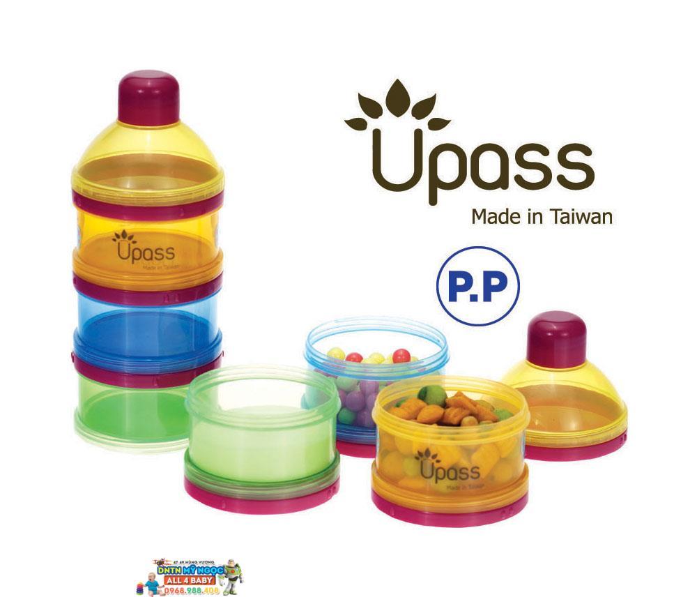 Hộpđựng sữa UPASS 3 ngăn UP8011C