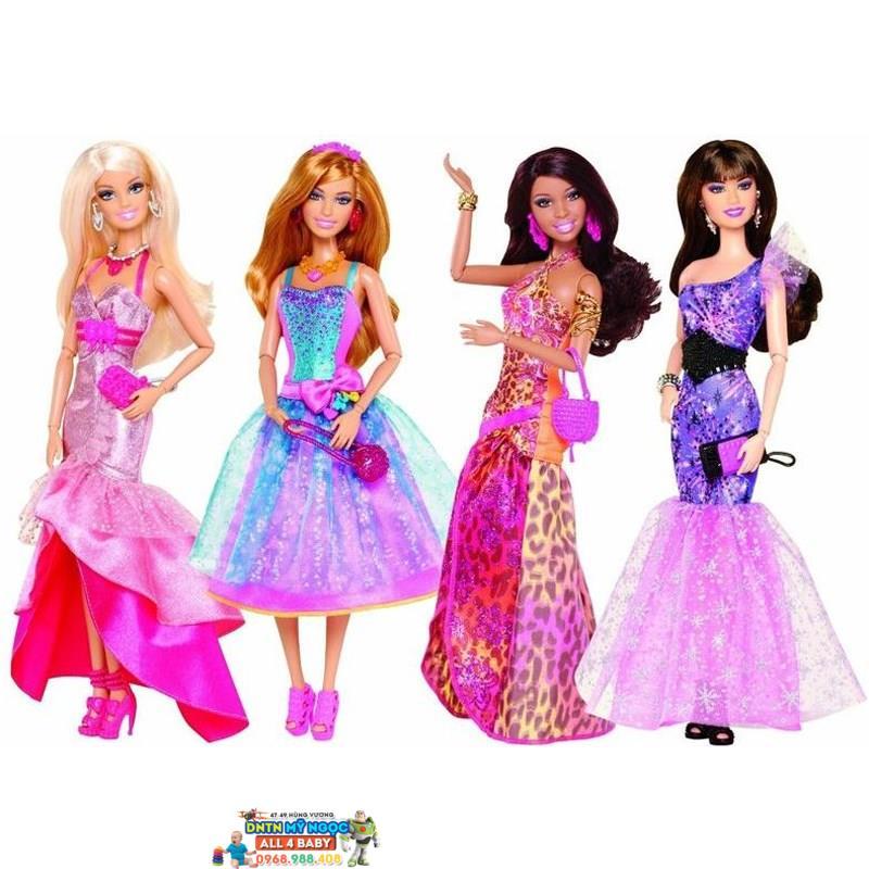 Búp bê Barbie - Tín đồ thời trang dạ hội Y7495