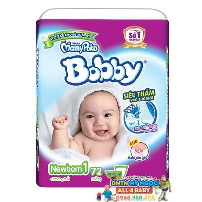 Tã dán Bobby Newborn 1 - 72