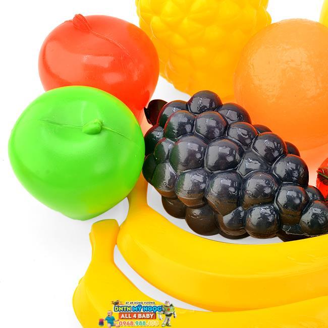 Túi lưới đồ chơi trái rau củ quả cỡ lớn LT