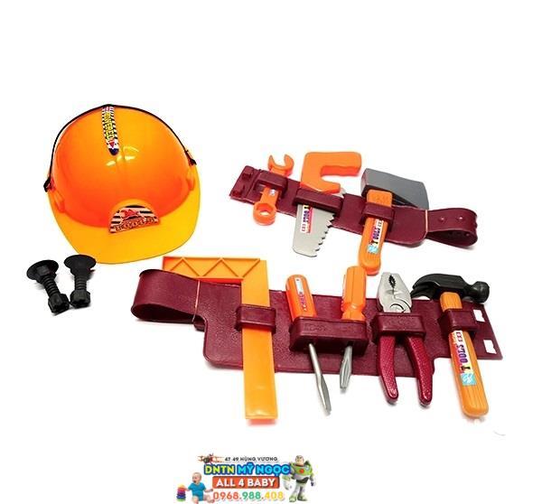 Bộ dụng cụ thợ điện xây dựng bé trai 664914