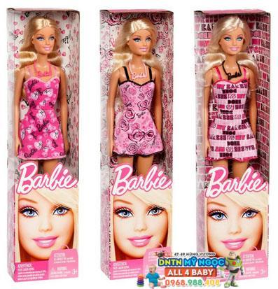 Búp bê Barbie - Cô nàng  duyên dáng T7439
