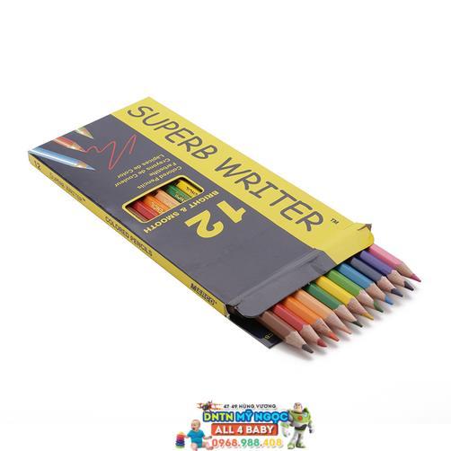Bút chì màu gỗ 12 màu Marco 4100-12