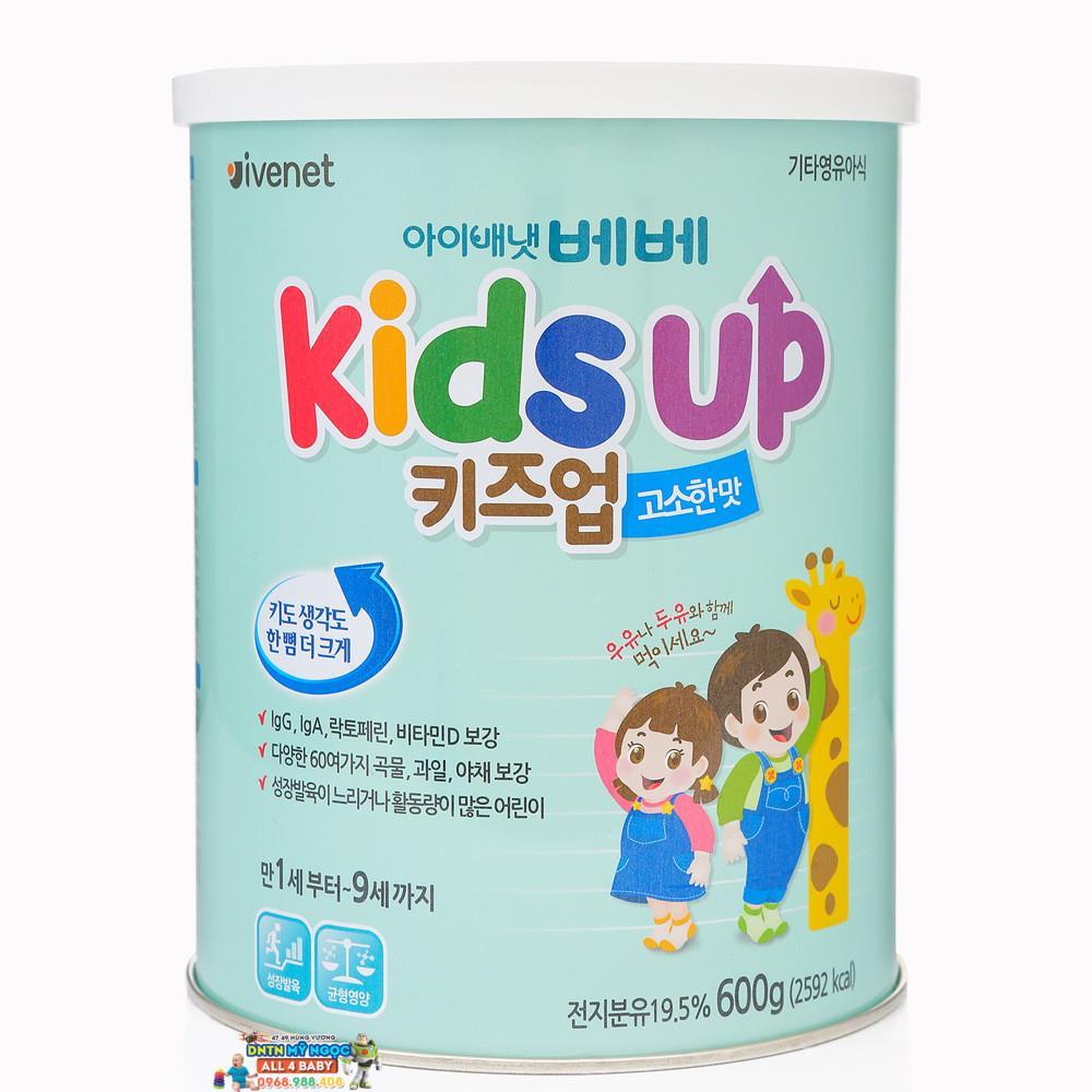 Sữa Kids Up 600g (vị hạnh nhân)
