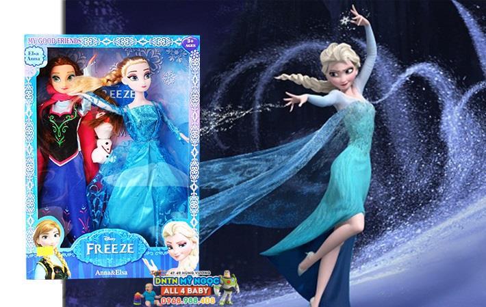 Đồ chơi búp bê công chúa Frozen Anna & Elsa 338