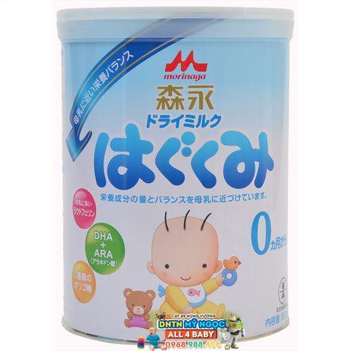 Sữa Morinaga số 0 - 810g (0-12 tháng)