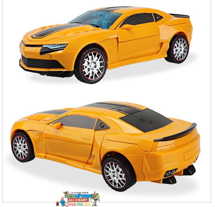 Lắp ráp xe Transformers Bumblebee W8003