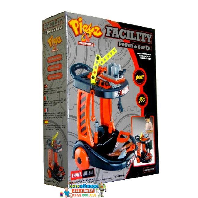 Bộ đồ chơi dụng cụ sửa chữa Facility 58008
