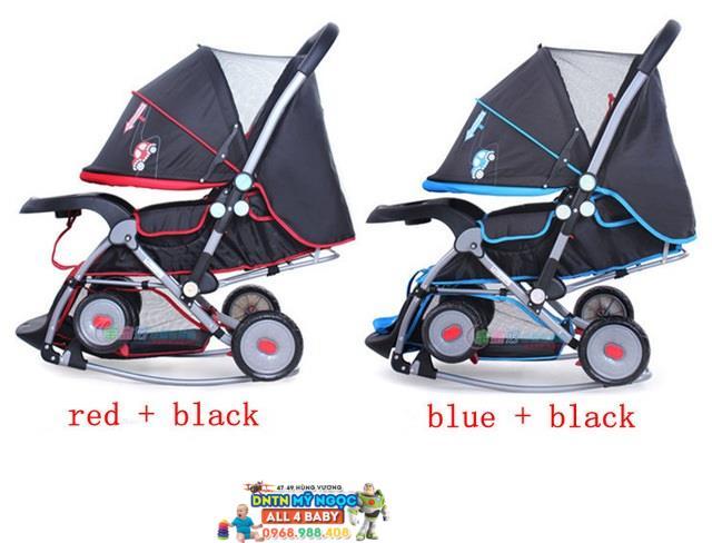 Xe đẩy em bé Baobaohao 2 chiều 720W