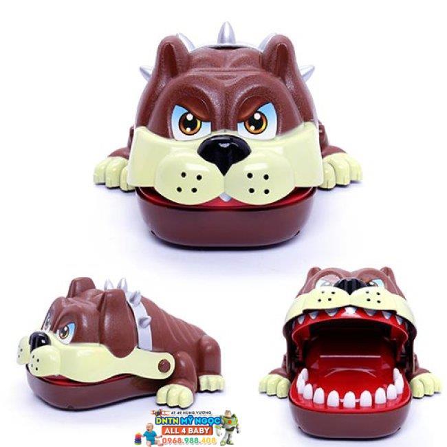 Đồ chơi khám phá răng chó Bull