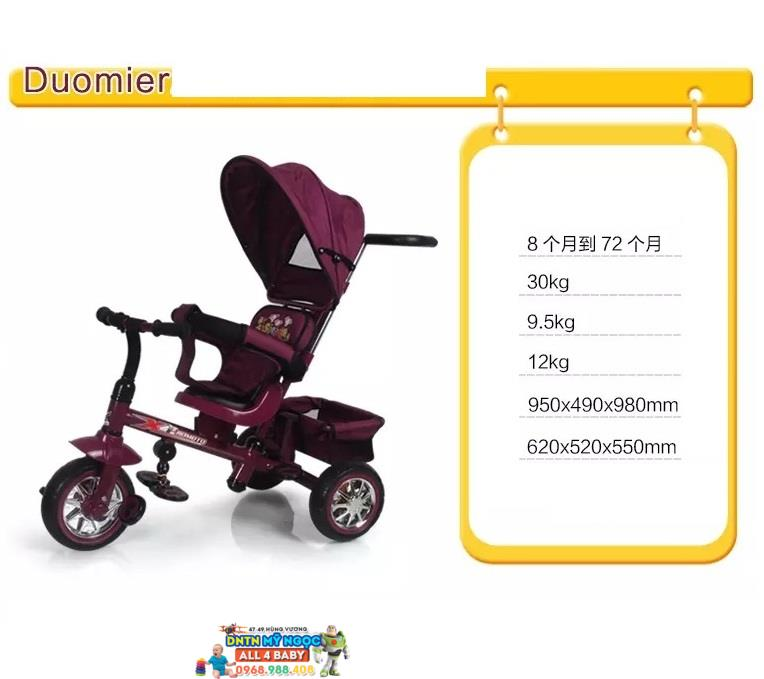 Xe đạp đẩy 3 bánh trẻ em B32-2