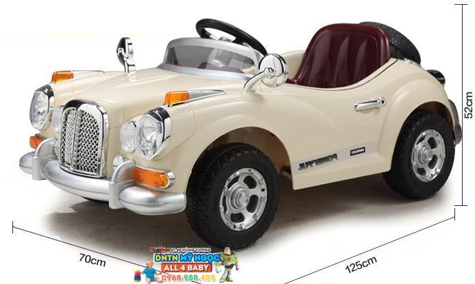 Xe ôtô điện cổ điển trẻ em Rolls-Royce Classic - JE128 (nhiều màu)