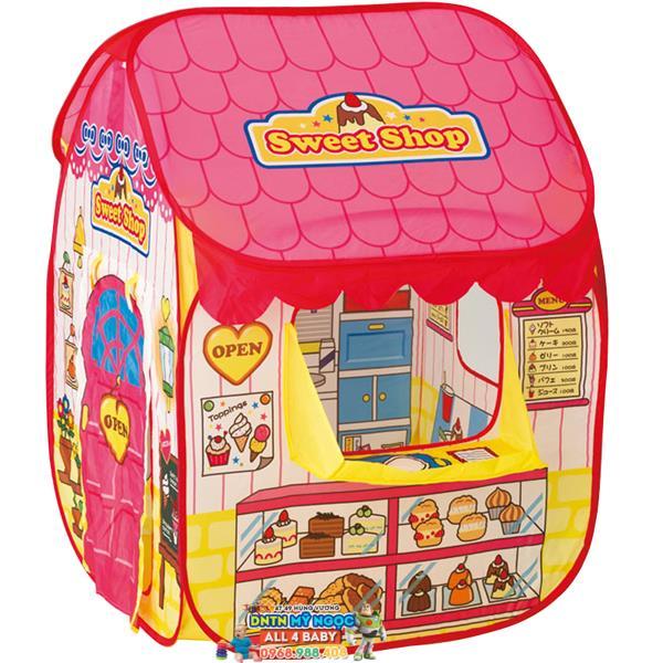 Nhà banh (Lều bóng) cửa hàng màu hồng LI686 - 2