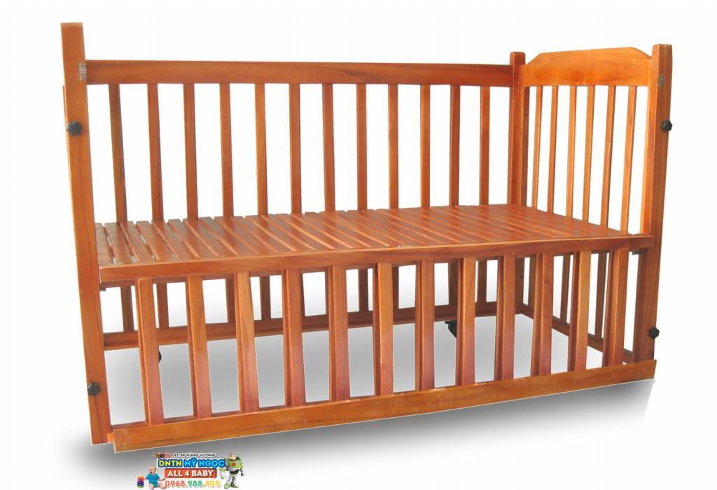 Cụi giường gỗ 3 in 1 Vienoi