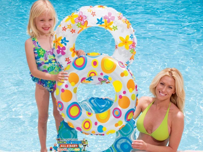 Phao bơi Intex tròn 59230