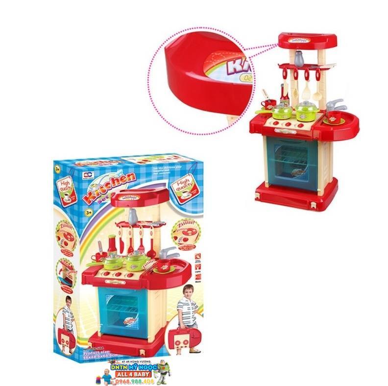 Đồ chơi nhà bếp lớn dùng pin Kitchen set 008-58A
