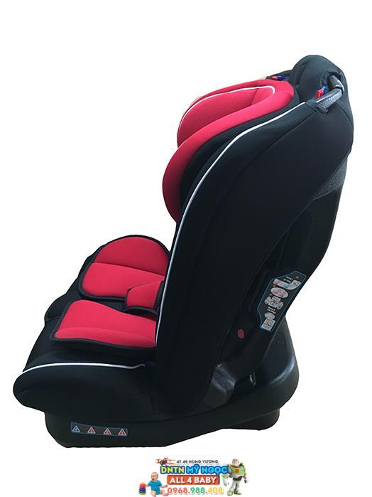 Ghế ngồi ô tô GluckZY-02 màu đỏ - đen (Đức)