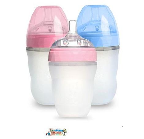 Bình sữa silicone kim cương Gluck Baby MMD240