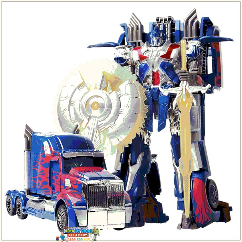 Lắp ráp xe Transformers Optimus J8005