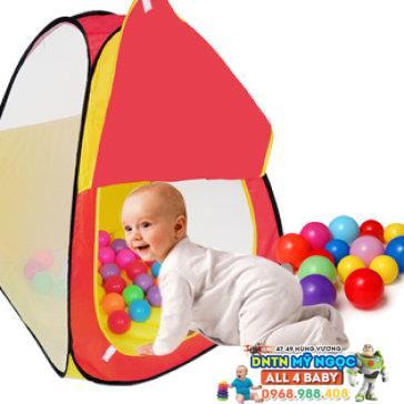 Nhà banh (Lều bóng) hình tam giác có ống chui CBH-22