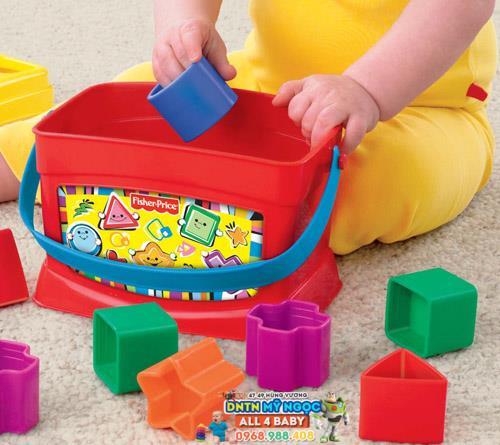Đồ chơi hộp thả hình Fisher Price K7167 / B1068