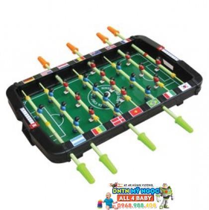 Bộ banh bàn bi lắc nhựa (bóng đá) cỡ trung