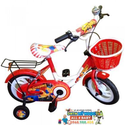 Xe đạp 2 bánh NCL bé trai cỡ 14 inch không nệm