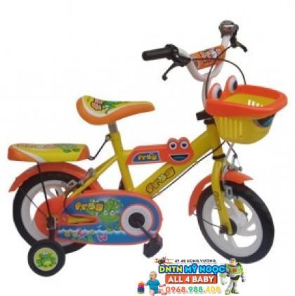 Xe đạp 2 bánh NCL bé trai cỡ 12 inch có nệm