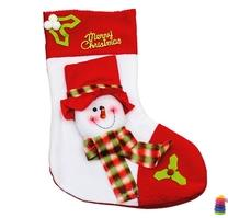 Tất nhung, hình ông Noel, bảng chào, chữ Merry, chuông đôi