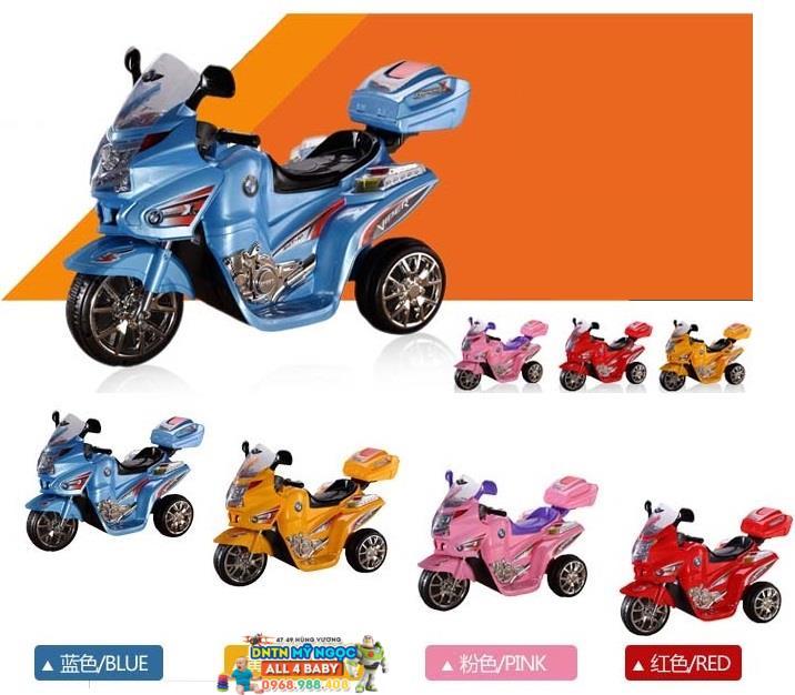 Xe môtô điện trẻ em cảnh sát T02411