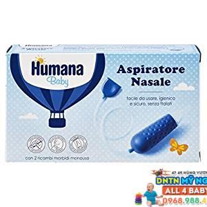 Dụng cụ hút mũi bé Humana - Italia