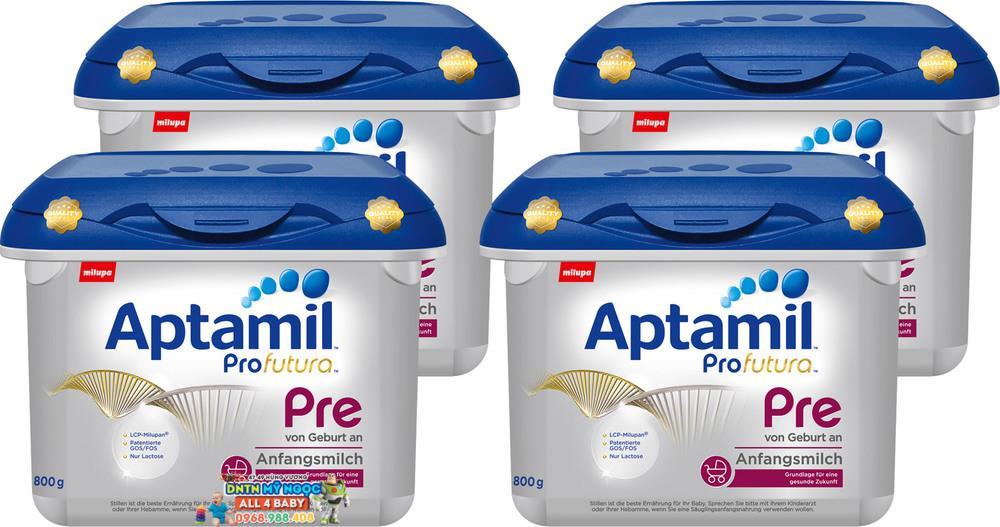 Sữa em bé Aptamil Profutura™ Anfangsmilch Pre (cho trẻ sinh non)