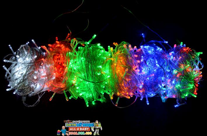 Dây đèn led & bóng kim, đèn sao chớp, đèn hình tuần lộc...