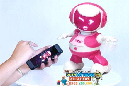 Đồ chơi Disco Robo Tosy - Andy màu đỏ phiên bản mới (Không Loa)