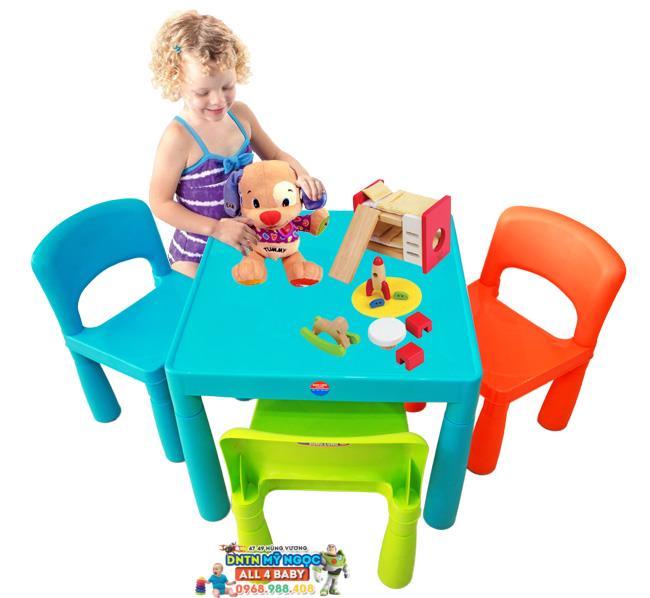 Bộ bàn ghế nhựa Song Long cho bé 2391