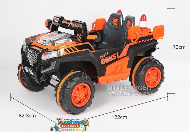 Xe ôtô điện trẻ em kiểu dáng xe địa hình A068