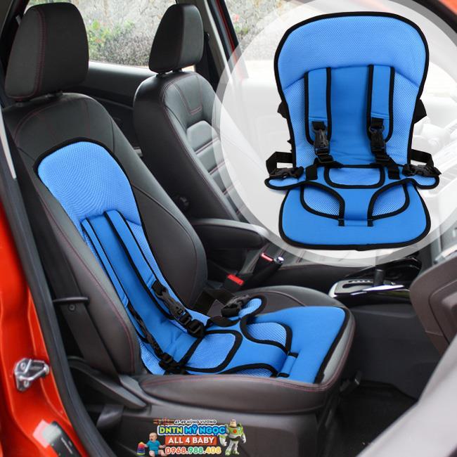Đai ghế ngồi ô tô đa năng cho bé