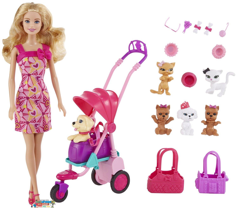 Búp bê Barbie - Cửa Hàng Thú Cưng BCF82