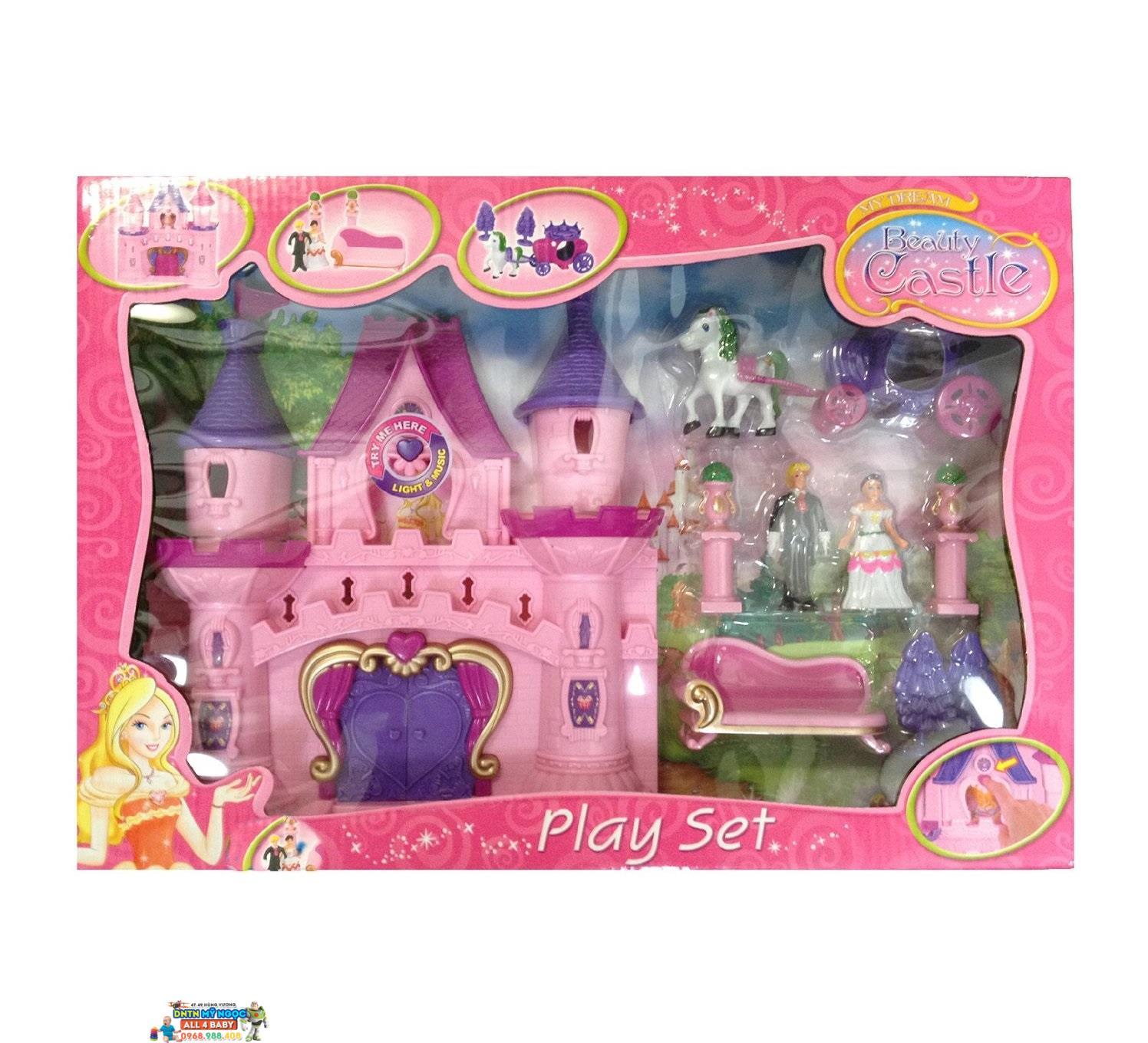 Đồ chơi lâu đài cổ tích công chúa BBT 2932